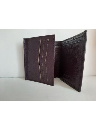 Фиолетовый кошелек из экокожи