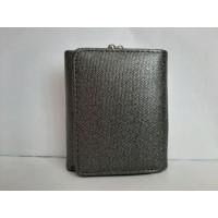 Серый кошелек из экокожи