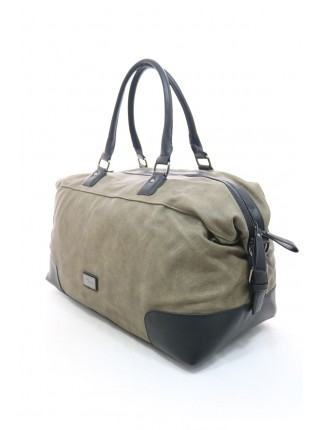 Дорожная сумка из экокожи